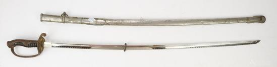 Japanese WWII Police Sword
