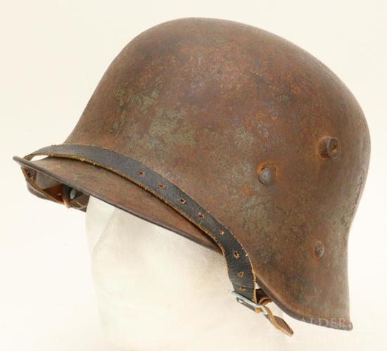 WWI Helmet Repurposed in Afghanistan