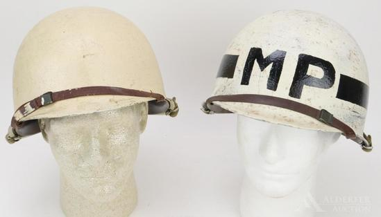 Pair of US Military Helmets