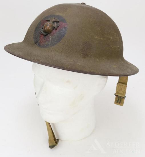 US WWI Marine Corps Helmet