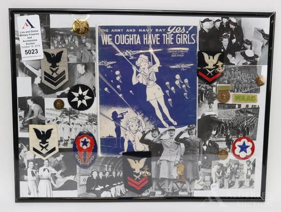 US Military Insignia Related to Women