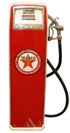 Gasboy 290 Gas Pump Restored in Texaco Gasoline