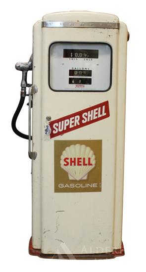 Super Shell Gasoline Tokheim Gas Pump