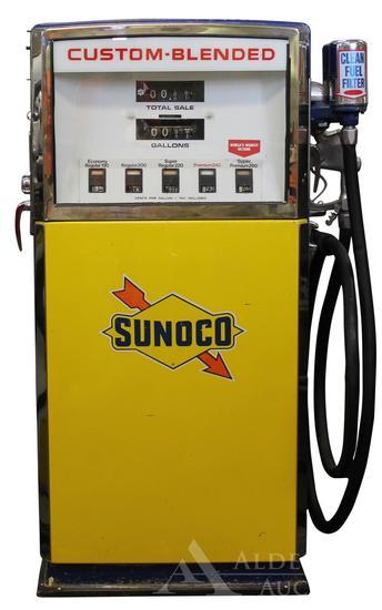 Wayne Blend-O-Matic Gas Pump Restored in Sunoco Gasoline