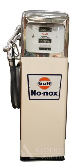Wayne Gas Pump Restored in Gulf No-Nox Gasoline