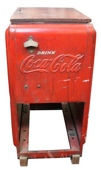 Coca-Cola Floor Cooler
