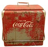 Coca-Cola Cooler with Removable Tray