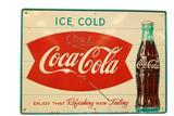 Coca-Cola Tin Sign
