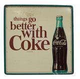 Tin Coca-Cola Sign