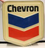 Chevron Gasoline Sign