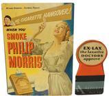 Phillip Morris Cigarette & EX-LAX Cardboard Signs