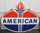 American Standard Oil & Gasoline Sign