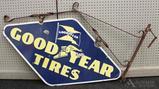 Goodyear Advertising Sign