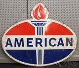American Standard Oil Advertising Sign