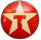 Texaco Button Sign