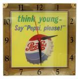 Pepsi Cola Advertising Clock