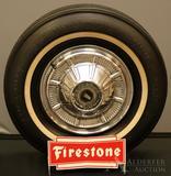 Firestone Tire Display Rack
