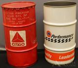 Citgo Oil & 76 Performance Barrels
