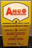 Anco Wiper Blades and Arms Metal Display Case