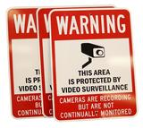 Video Surveillance Warning Signs