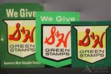 S & H Green Stamp Sign Grouping