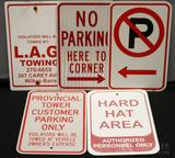 Parking Related Sign Grouping