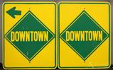 Downtown Directional Signs