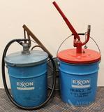 Exxon Grease Pumps