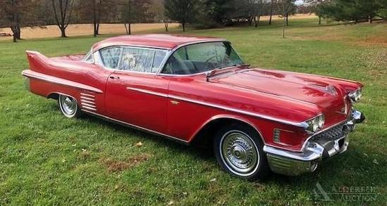 1958 Cadillac Coupe DeVille 62