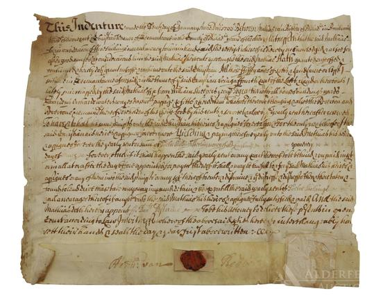 Germantown Pennsylvania Indenture-1703