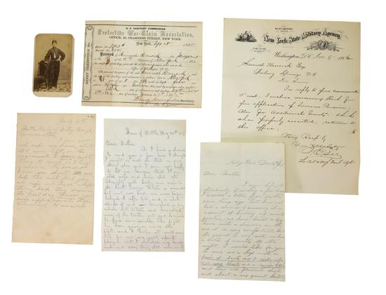 Civil War Letter Grouping of Samuel Hancock, 14th and 5th New York Infantry