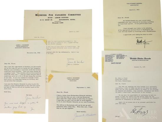 Political Letter Archive-Kennedy & Michener