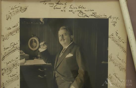 Autograph of Victor Herbert