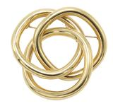 14KY Gold Tiffany Brooch Pin Pendant