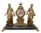 Ansonia Figural Mantel Clock