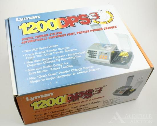 Lyman 1200 DPS3 powder system