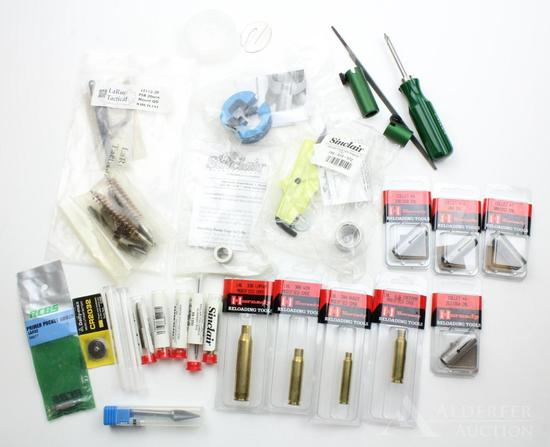 Lot of precision reloading tools and equipment