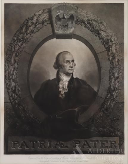 Portrait of George Washington-Rembrandt Peale