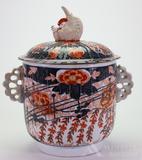 Japnese Porcelain Covered Jar