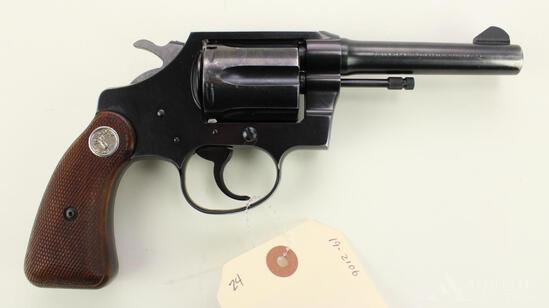 Colt Cobra double action revolver.