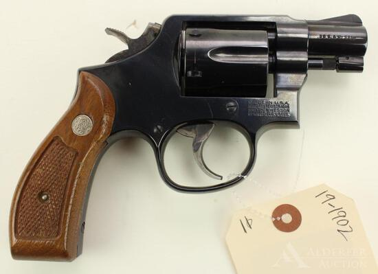 Smith & Wesson 10-9 double action revolver.