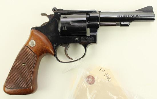 Smith & Wesson 34-1 double action revolver.