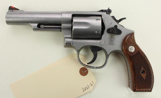 Smith & Wesson 66-8 Combat Magnum double action revolver.