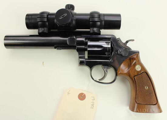 Smith & Wesson 10-8 double action revolver.