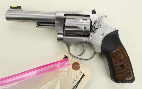 Ruger SP101 double action revolver.