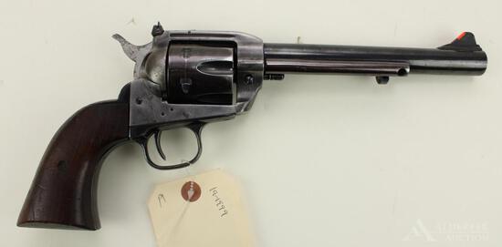 Interarms Virginian Dragoon single action revolver.