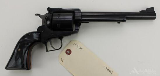 Ruger New Model Super Blackhawk single action revolver.