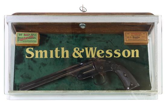 Smith & Wesson 1891 First Model Target single shot pistol.