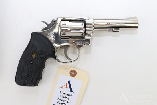 Smith & Wesson 13-1 double action revolver.