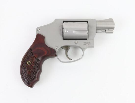 Smith & Wesson 642-2 Performance Center double action revolver.